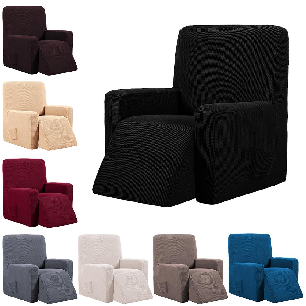 Waterproof Elastic Recliner Chair Cover All-inclusive Massage Sofa Couch Cover  for Wingback Chair Sofa grille
