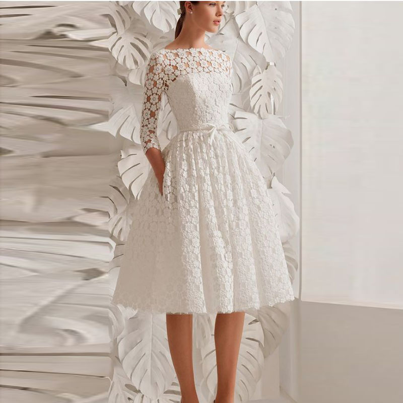 Good And Cheap Products Fast Delivery Worldwide Boho Short Wedding Dress On Shop Onvi,Dresses For A Wedding Guest In October
