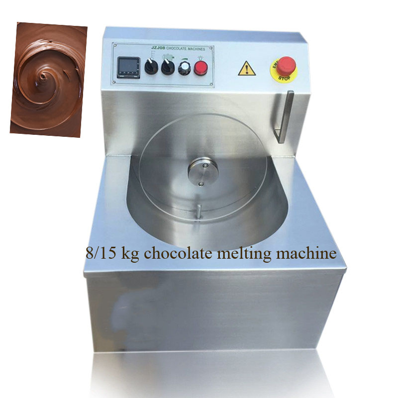 With CE Of Chocolate Melting Machine Stainless Steel 304 Chocolate Tempering Machine