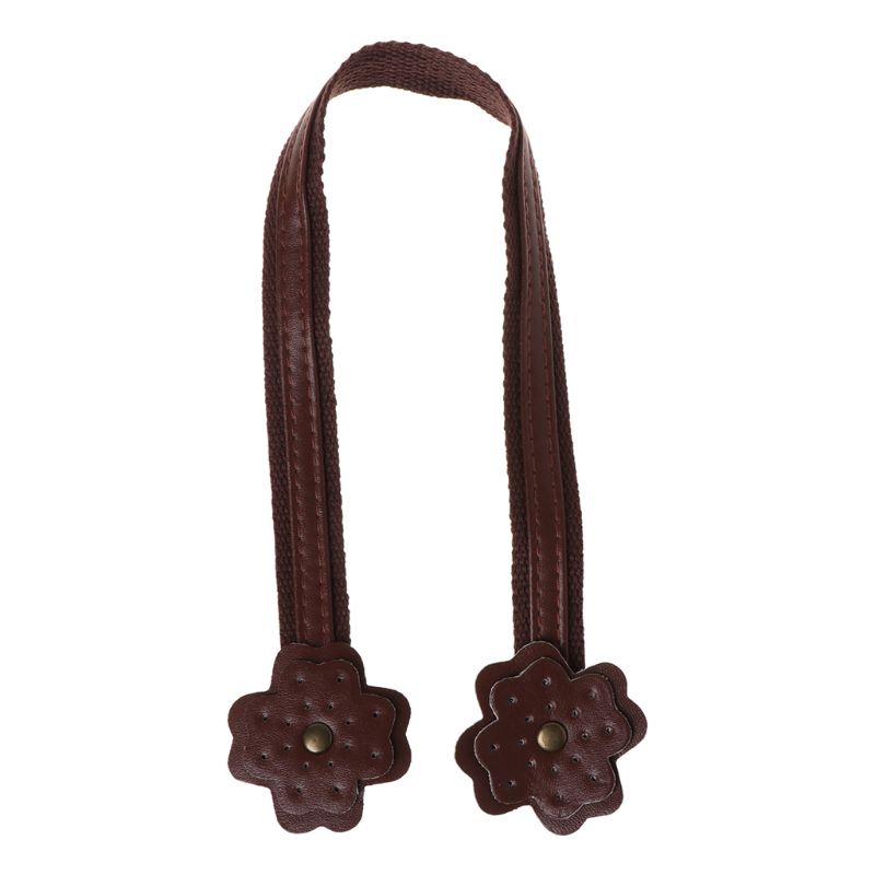 45cm Leather Bag Strap Handle Shoulder Bags Belt Band For Handbag DIY M6CC