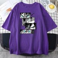 Ataque en Titán bien los ojos de las mujeres camiseta de Hip Hop Casual camisetas 2021 Harajuku moda T camisas de verano negro camisetas para las mujeres 2021