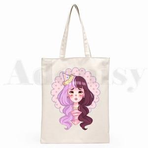 Мелани Мартинес Kpop летние графические эстетические графические сумки для покупок с мультяшным принтом модная повседневная сумка для девочек