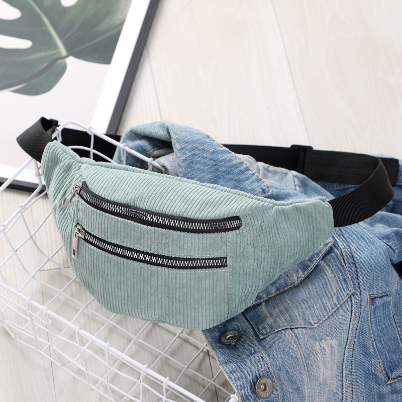 New Fashion Large Waist Bag Women And Man Sport Travel  Mobile Phone  Money Fanny Pack Belt Bags