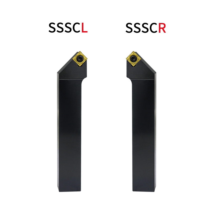 1pc SSSCR1616H09 SSSCR2020K09 SSSCL2525M09 External Turning Tool Holder SCMT Carbide Inserts Lathe CNC Cutting Tools Set