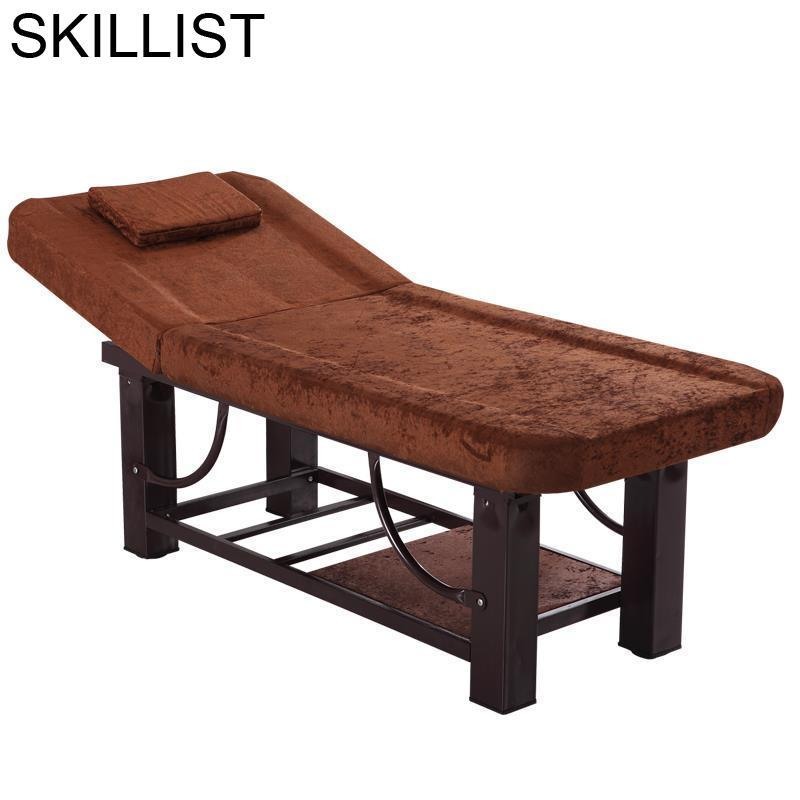 Massagem Furniture Lettino Massaggio Mueble Salon De Pliante Tattoo Chair Table Folding Camilla Masaje Plegable Massage Bed