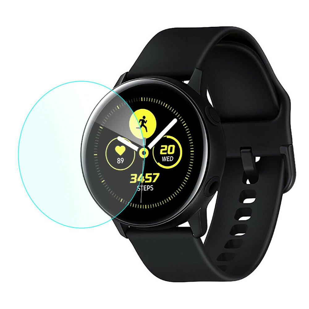New For Samsung Galaxy Watch Active 2 40mm 44mm 3D Tempered Glass Screen Protectors Gurad Film HD Protective Film Cover