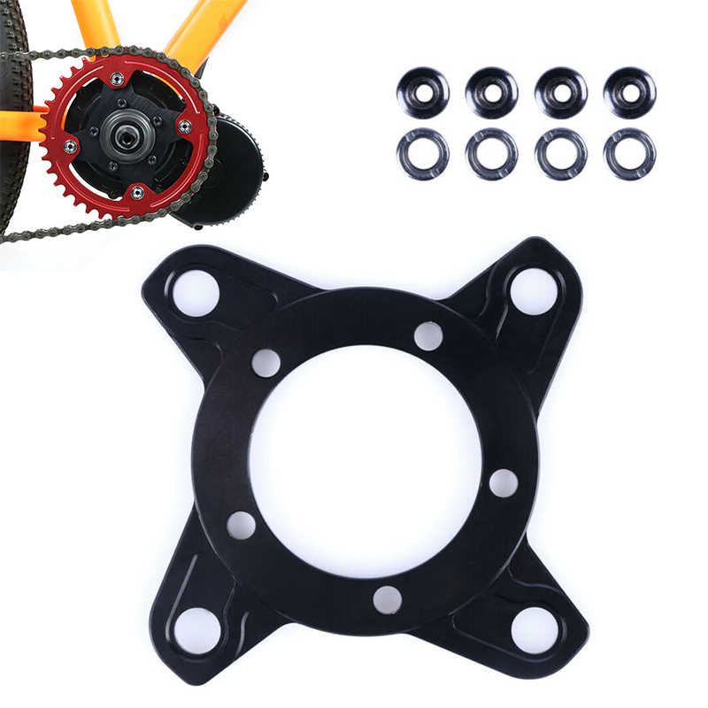 durable Chain Ring Spider Adapter for 8Fun eBike Mid Drive Motor Bafang 104BCD Kit cycling electric bike accessories