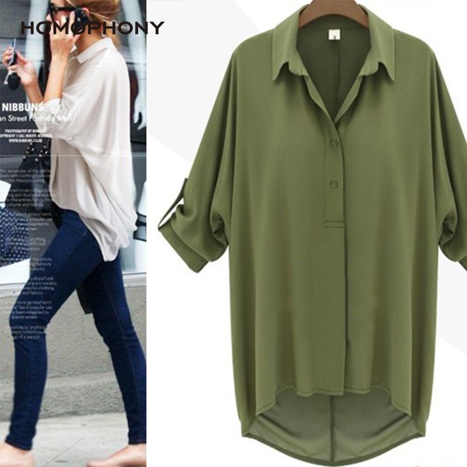 Homophony Women Blouse Turn-down Blouse Shirt Collar Button Simple Elegant Women Shirt Office Lady Women Clothes 2020 Blusas