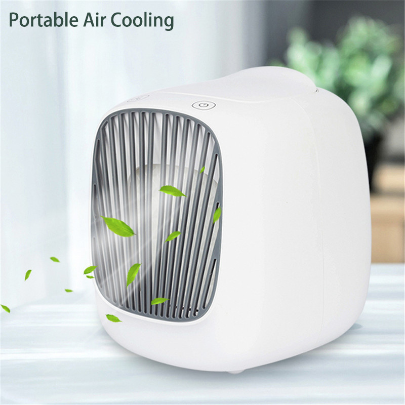 USB Air Conditioner Portable Conditioning Fan Home Cooler Cooling System Mini Air Conditioner Cooling Fan