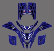 Atv decalques adesivos gráficos para yamaha blaster 200 yfs200 yfs 200 1988-2001 2000 quadros ornamentais envoltório kits de corrida completa pegatina