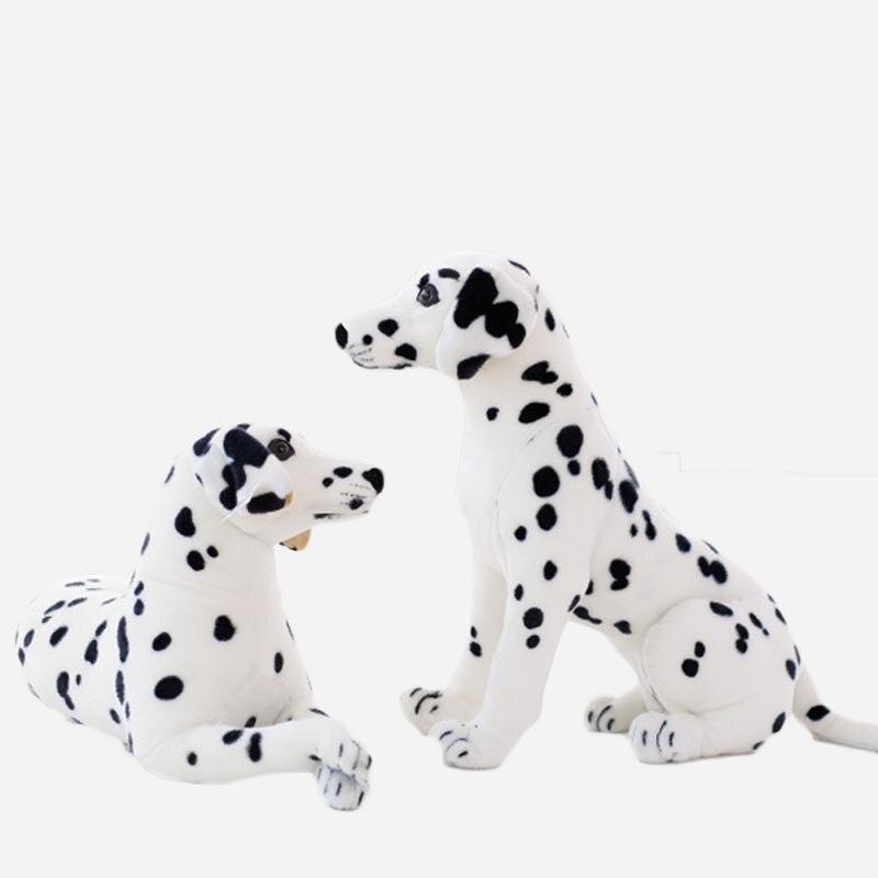 30cm 40cm 50cm 60cm 75cm 90cm Dalmatian Lifelike Giant Realistic Stuffed Cotton Soft Dog Doll Plush Toy Kid Gift