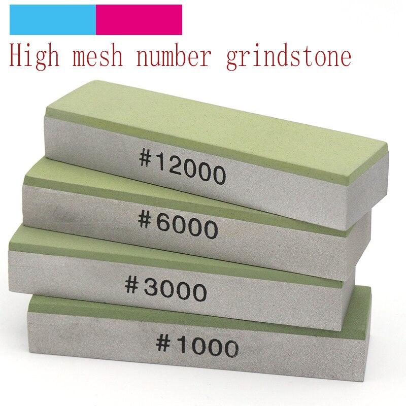 1pcs 70mm Diamond/Resin Knife Sharpener 1000/3000/6000/12000 Grit Stones Whetstone Fixed Angle Kitchen Knife Abrasive Tool