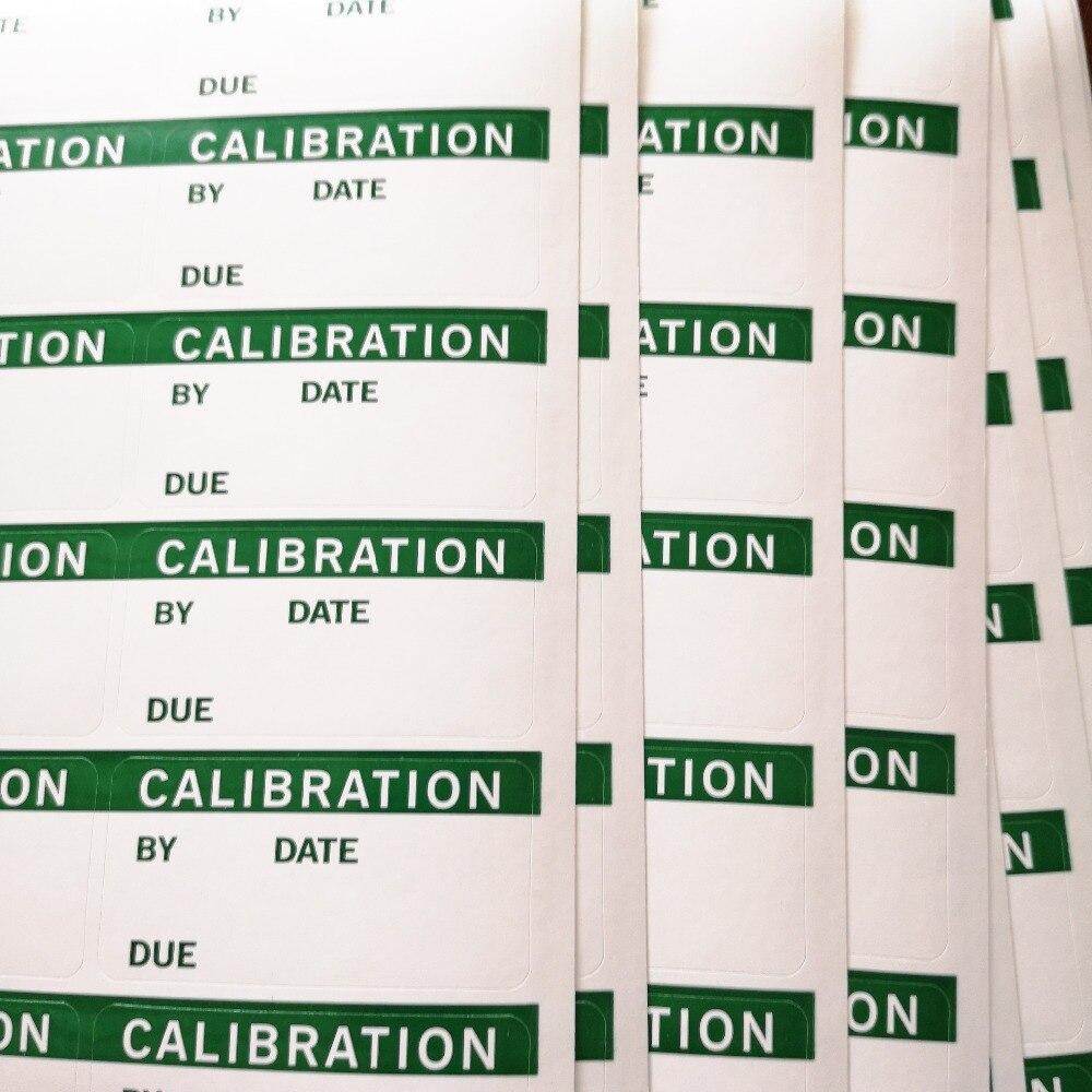 600 шт./партия, 50x25 мм Калибровочные рабочие наклейки, самоклеющиеся глянцевые бумажные наклейки, пункт № GU03