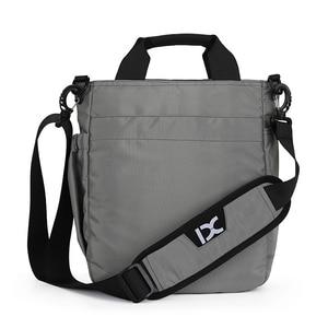 Image 2 - 망 숄더 백, 다기능 크로스 바디 메신저 백 비즈니스 사첼 슬링 여행 iPad 서류 가방 서류 가방