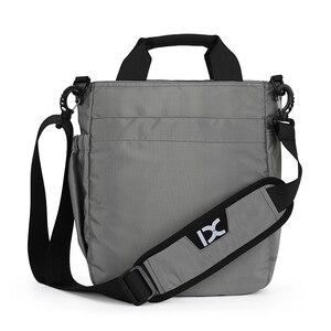 Image 2 - メンズショルダーバッグ、多機能クロスボディメッセンジャーバッグビジネスサッチェルスリングバッグ旅行ipad文書ブリーフケース