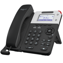 LCD Voip Phone with Backlight 2-Sip 2-Lines Accounts Graphic Voice-Support Wall-Mountable