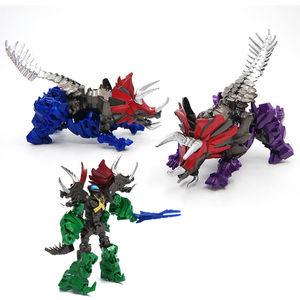 Rope robot dinosaur toy Deformation toys Grimlock Robot model Supermodel God