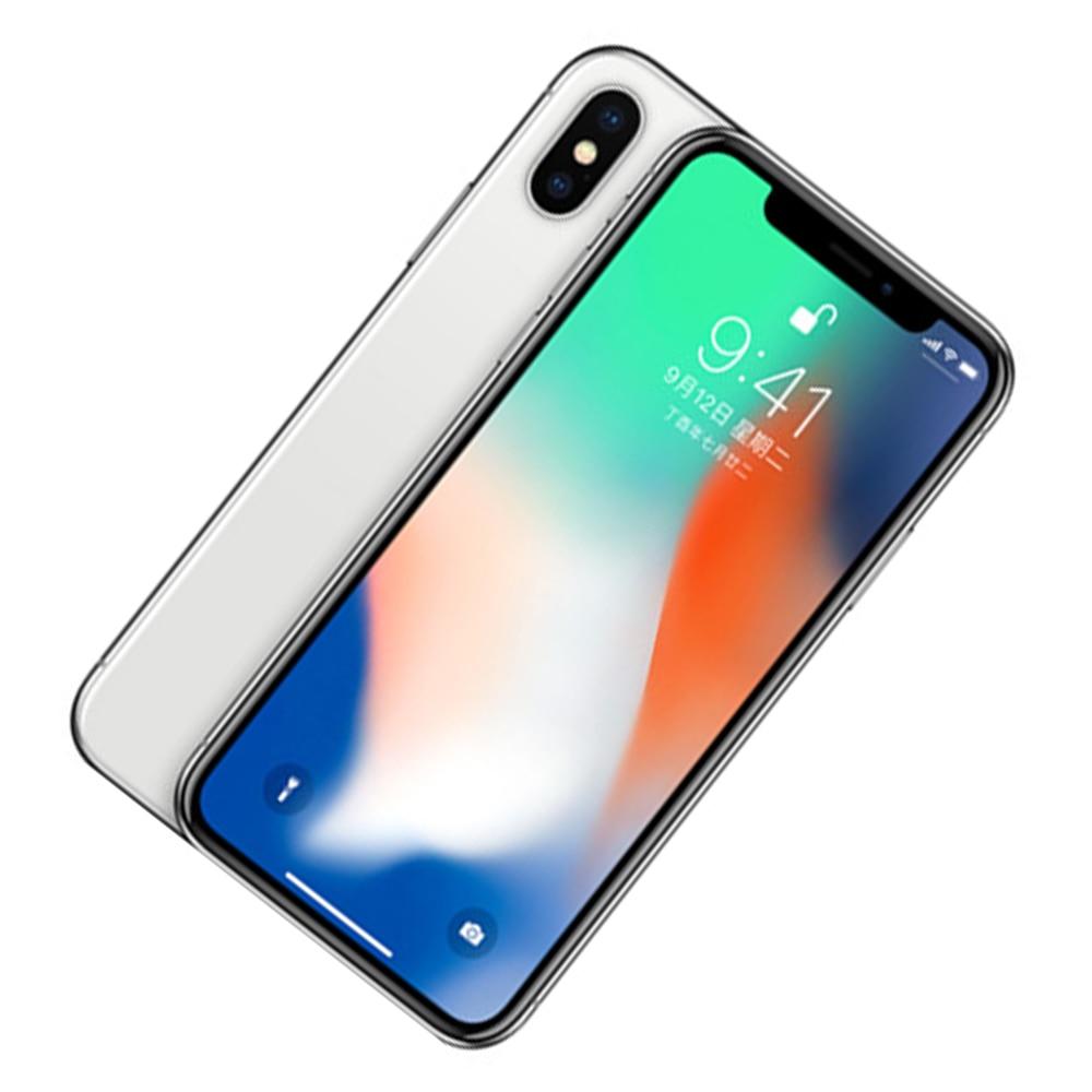 Оригинальный разблокированный смартфон Apple iPhone X, сканер лица, 5,8 дюйма, iOS A11, 3 Гб ОЗУ, 64 ГБ/256 Гб ПЗУ, 12 МП, десять ядер, 4G LTE, смартфон IP67