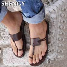 2020 Retro Sandals Men's Summer Beach Casual Shoes Neutral Gladiator Flat Sandals Outdoor Ladies Slippers Open Toe Large Size 48