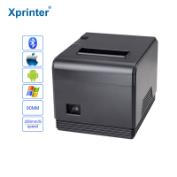 High speed 80mm auto cutter POS printer Thermal receipt printer Kitchen printer with USB Serial Parallel Ethernet port