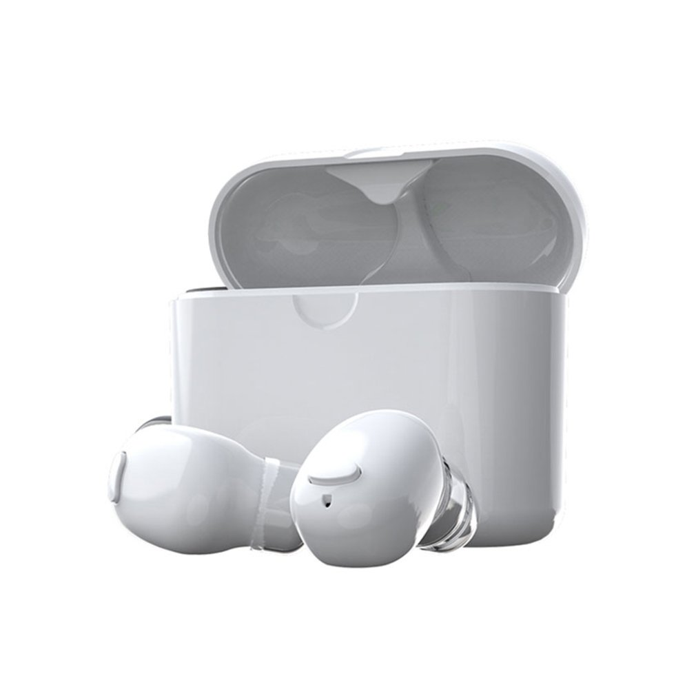 Headphones 5.0 Mini-ear Headphones With Charging Compartment Wireless Sports Earbuds Stereo Headsets Voice Control