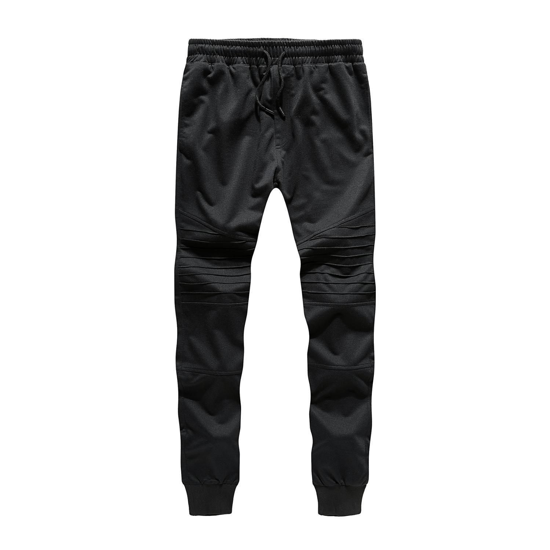 2019 High Quality 100%Cotton Jogger Men Sweatpants Fitness Pants Spring Autumn Trousers European Size Casual Pants Joggers