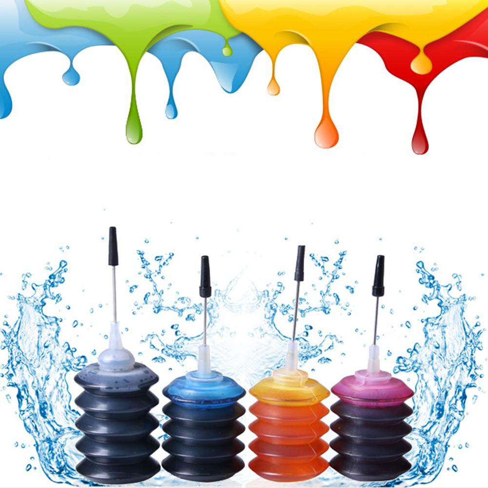 30ML Universal Refill Dye Ink Cartridge Strong Infiltration Non-poisonou Refill Ink For Brother CANO HP Inkjet Printer
