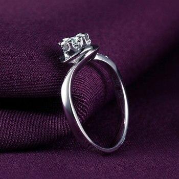 1 Carat 18k Gold And White Gold Diamond Engagement Ring  2