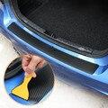 1 шт. задний бампер Защита углеродное волокно Стикеры для Dacia Duster Logan Sandero и многое другое Lodgy Mcv 2 Аксессуары для Dokker