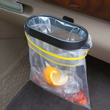 Hanging-Holder Storage Garbage-Bag Car-Accessories Auto-Trash-Can Foldable Vehicle-Frame