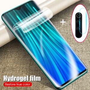 Camera Lens Hydrogel Film For Xiaomi Redmi Note 9S 9 8 7 Pro Screen Protector For Redmi Note 8t 7 8A 8 Pro 6 K30 Pro Glass