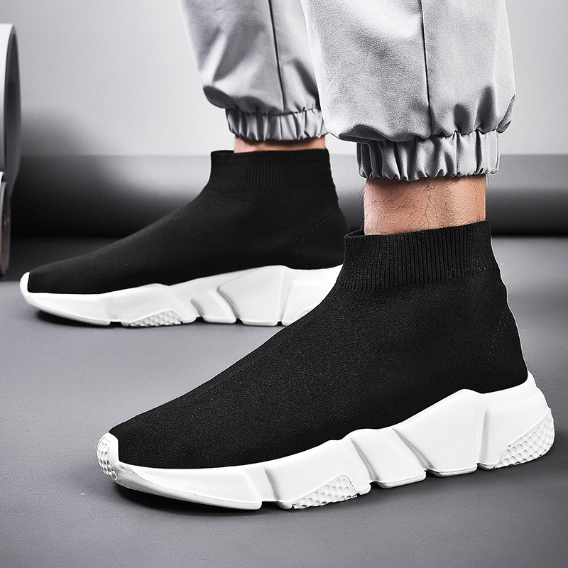 Brand Designer 2019 New Mens Casual Shoes Lightweight Comfortable Walking Shoes Non-slip Wearable Men Sneaker Size 36-47