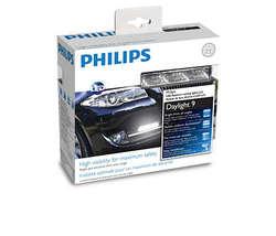 LED daytime running lights Philips daylight 9