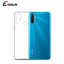 Silicone UltraThin Clear Soft Cover For Oppo Realme 7i 7 5G 6i 5i 5 5s 6S 6 3 C17 C3i C11 C15 C3 C2 Pro TPU Case