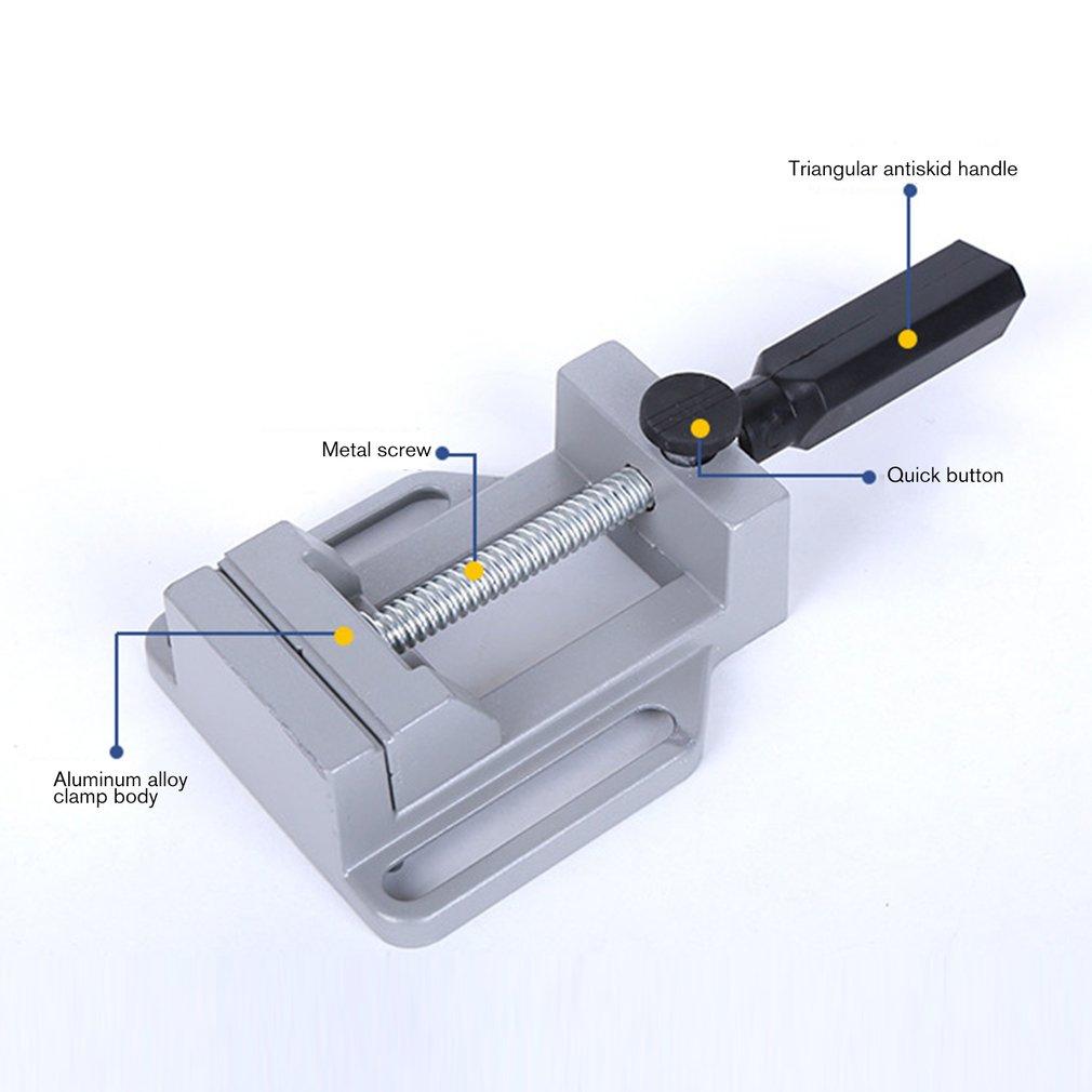 Mini Multifunktionale Arbeitstisch Bohrer Fräsen Maschine Parallel-kiefer Umge Bohrer Bench Clamp Umge Arbeitstisch Für Holzbearbeitung