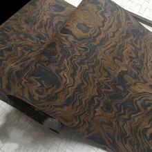 التقنية الخشب القشرة الجوز الأسود Burl الجذر الهندسة القشرة E.V. 62x250 سنتيمتر الأنسجة دعم