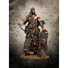 Unpainted Figure Building-Kit Model-Unassambled Fantasy-Stand Resin Man 1/24-Ancient