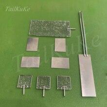 Platinum sheet platinum sheet electrode PT sheet 10/15/20/30*0.1/0.2/0.3 99.99