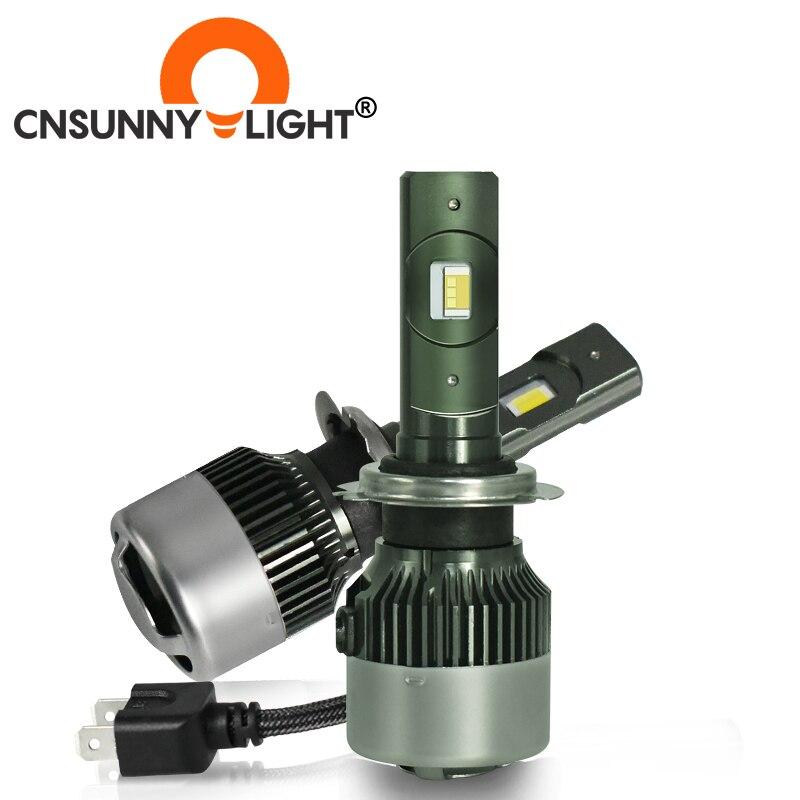 CNSUNNYLIGHT Tri color LED Car Headlight H7 H4 H11 9005 9006 9012 H1 H3 H8 Foglight 3000K 4300K 6000K All in One Bulb Car Lights Car Headlight Bulbs(LED)    - AliExpress