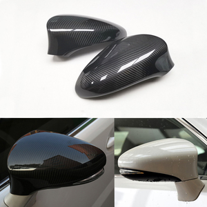 2011- 2019 For Lexus IS is200 is250 is300 is300h ES es250 es330h es350 CT ct200h GS RC RCF Real Dry Carbon Mirror Cover(China)