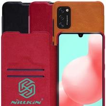 Nillkin Qin Buch Flip Leder Fall Abdeckung Für Samsung Galaxy A41