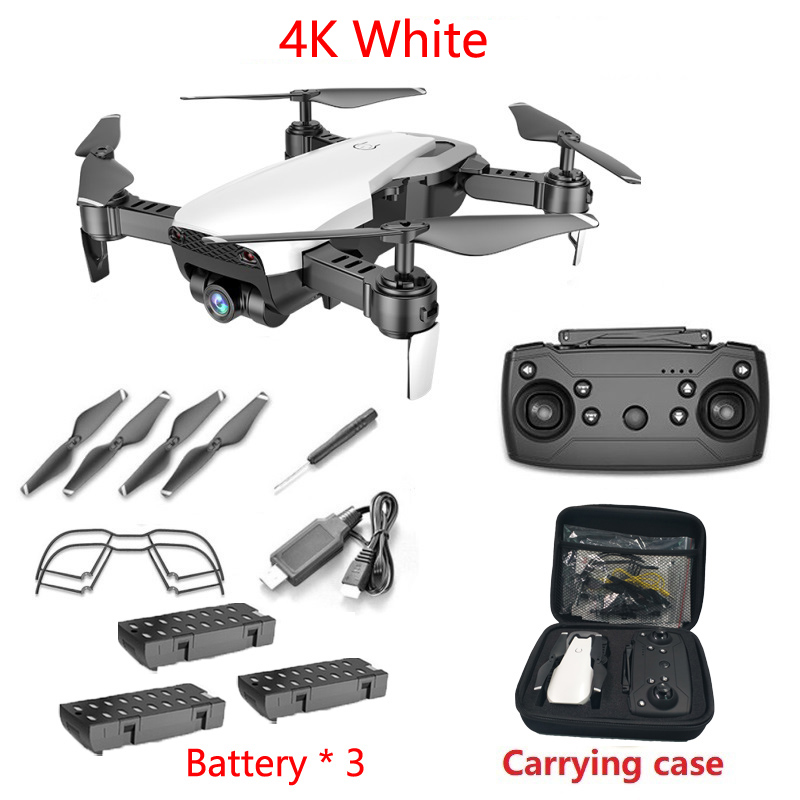 Teeggi M69G FPV RC Drone 4K 1080P Camera Optical Flow Selfie Dron Foldable RC Quadcopter Helicopter VS VISUO XS816 SG106 M70