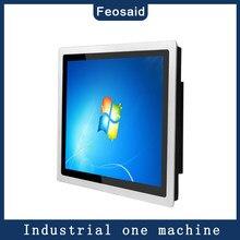 Tablette pc tactile industrielle, 4 go 128 go, intégrée, tout-en-un, panneau windows 7/win10, 10 /12/15/17/19/21 pouces