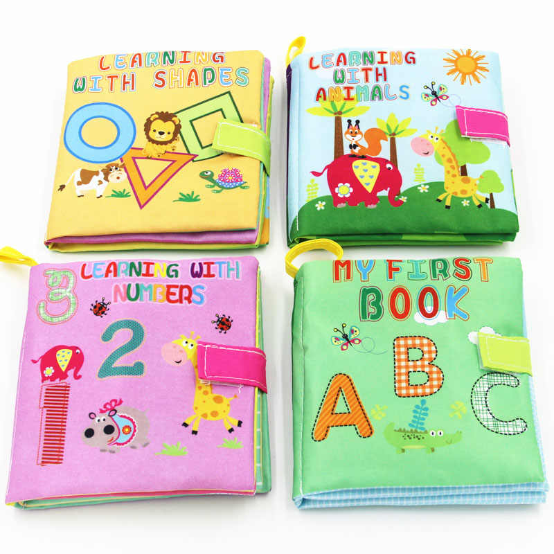 Giocattoli Per Bambini 0-36 Mesi Morbido Panno Libri Educativi Infantili Passeggino Giocattolo di Crepitio del bambino Appena Nato Presepe Letto Giocattoli