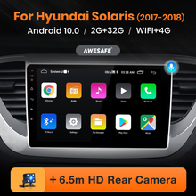AWESAFE PX9 for Hyundai Solaris Verna 2017 2018 Car Radio Multimedia video player GPS No 2din 2 din Android 10.0 2GB+32GB