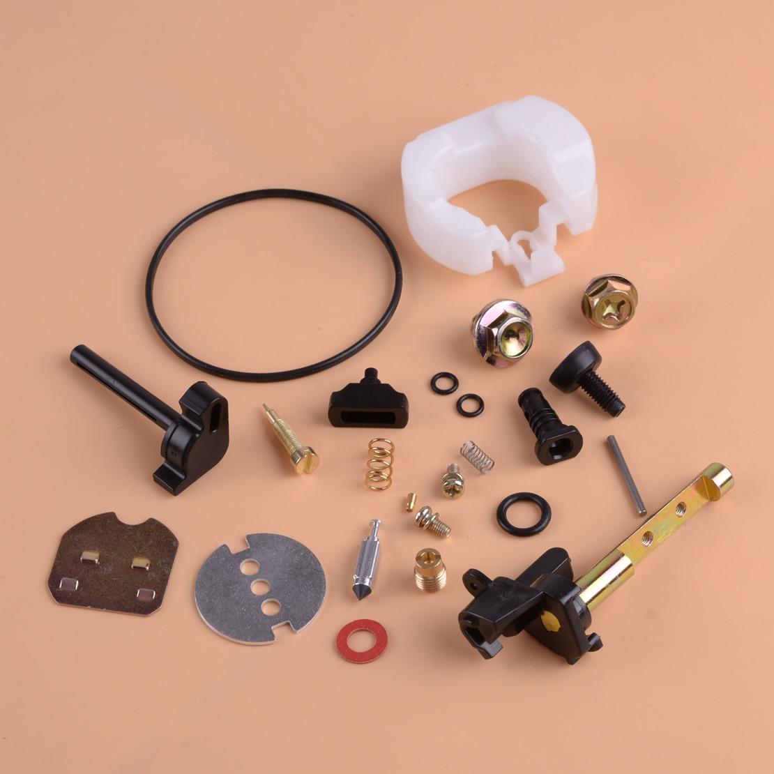 LETAOSK Carburetor Carb Carby Rebuild Repair Kit Fit For Honda GX390 13HP