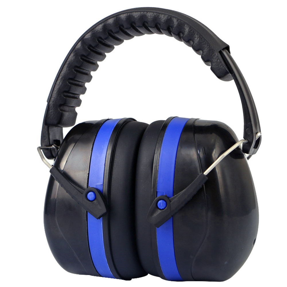 Shooting Safety Construction Hearing Protection Adjustable Portable Sleeping Ear Muffs Practical Soft Studying Noise Reduction