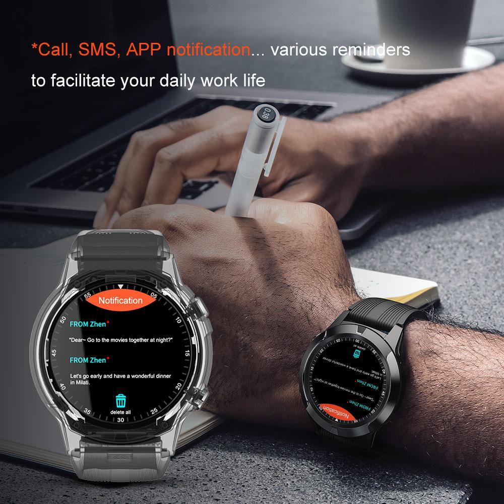 Hbdd1caea5ef847cb8a579c4b42fccc166 2020 Built-in GPS Smart Watch GSM bluetooth Call Phone Air Pressure Heart Rate Blood Pressure Weather Monitor Sport Smartwatch