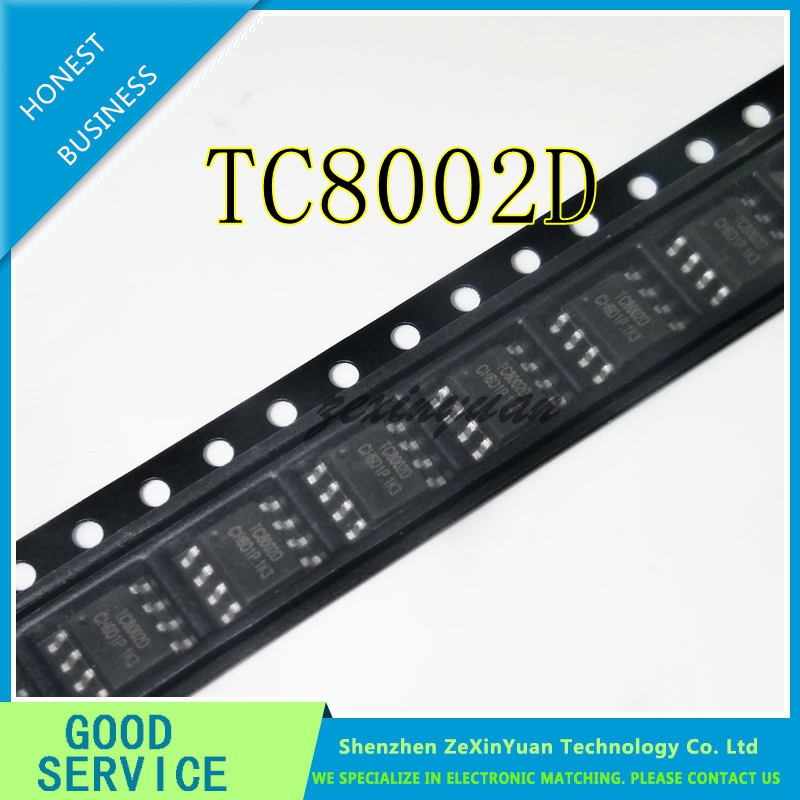 20PCS/LOT TC8002D TC8002 8002D 3W AUDIO POWER AMPLIFIER AUDIO POWER AMPLIFIER IC SOP-8 NEW ORIGINAL