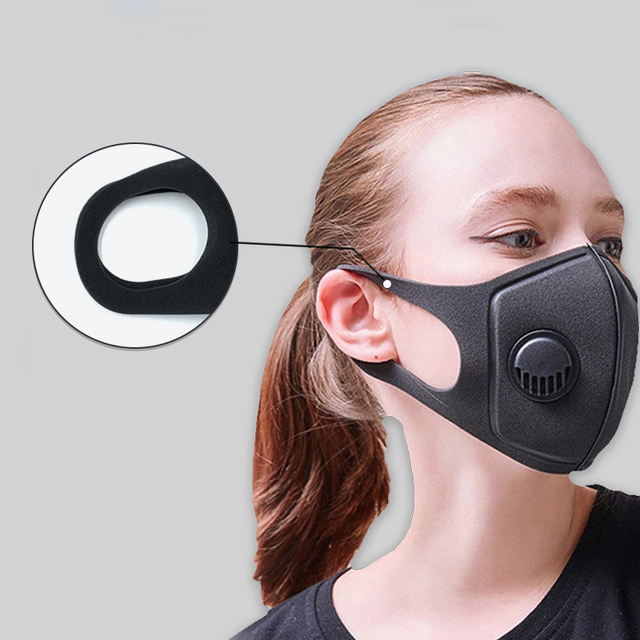 4/10/20/50pcs Dust Mask Filter Anti Air Pollution Mouth Face Mask with Anti Dust Cotton Adjustable Straps and a Washable Mask 1